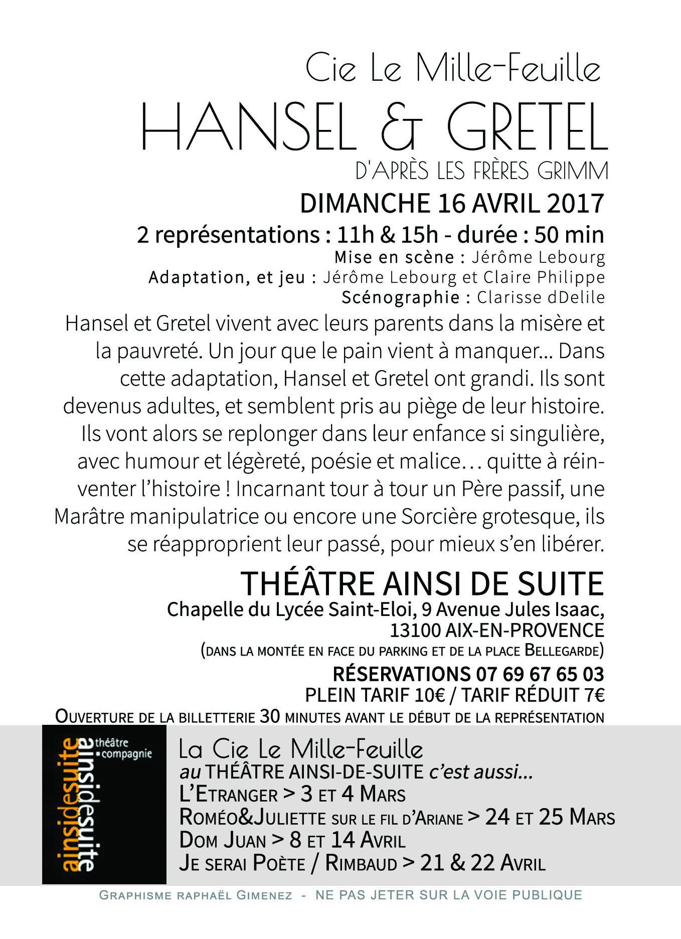 Hansel&Gretel A6 Verso